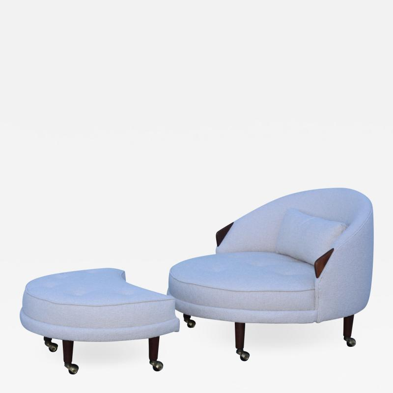 Adrian Pearsall Adrian Persall Havana Chair And Ottoman