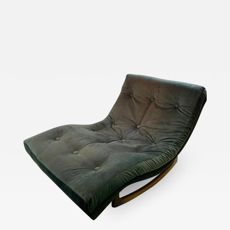 Adrian Pearsall MID CENTURY CHAISE LOUNGE ROCKER BY ADRIAN PEARSALL