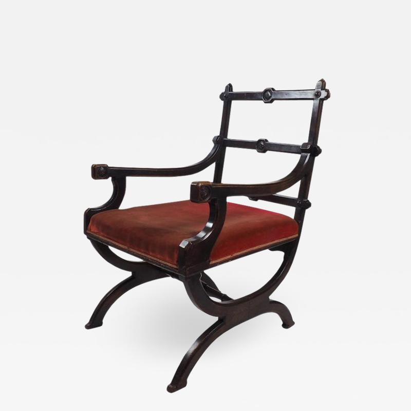 Aesthetic Movement Chair in the Style of A W N Pugin