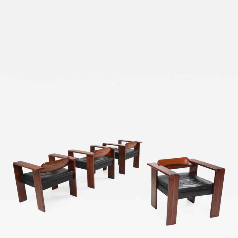 Afra Tobia Scarpa Artona armchairs by Afra Tobia Scarpa for Maxalto 1975
