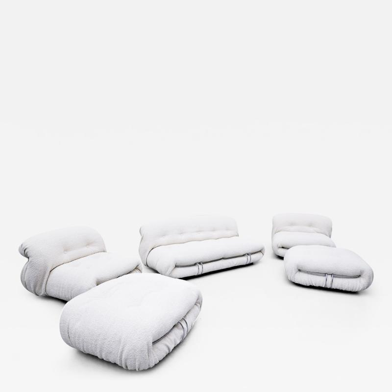 Afra Tobia Scarpa soriana set by tobia afra scarpa for cassina 1970s