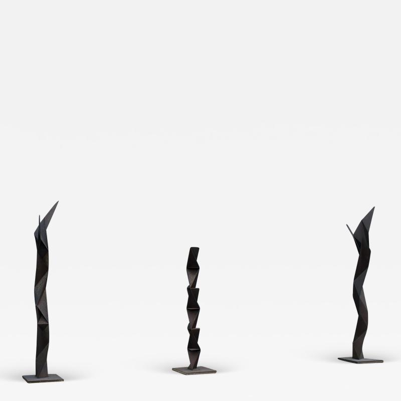 Aijiro Wakita The Rust Three Sculptures by Aijiro Wakita