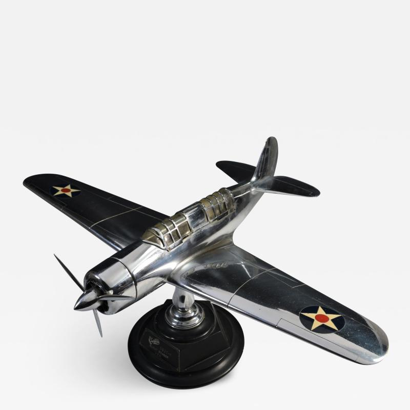 Airplane Helldiver Factory Model Curtiss Wright Desk Display 1940