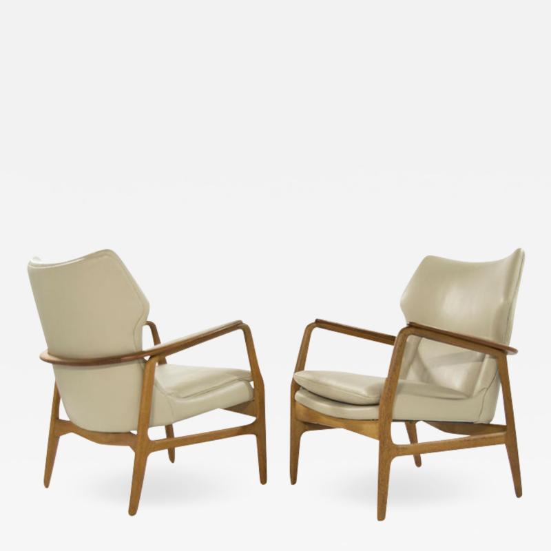 Aksel Bender Madsen Teak Lounge Chairs by Aksel Bender Madsen for Bovenkamp