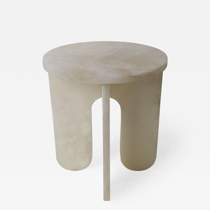 Alabaster Side Table