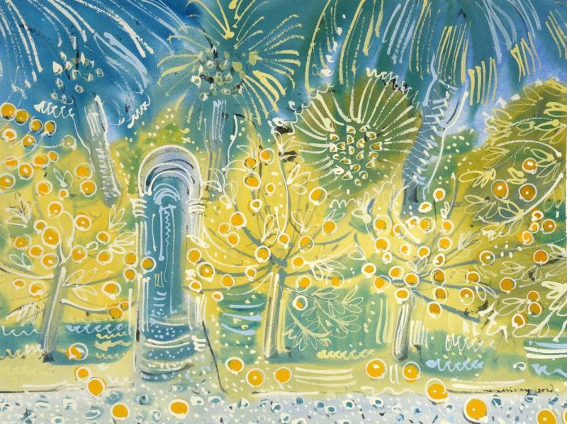 Alan Halliday Alan Halliday Orange Groves Seville