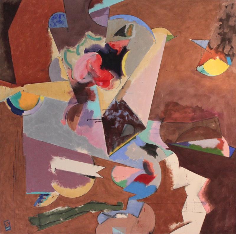 Alan Shean Abstract 1980