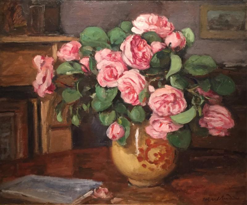 Albert Andre Vase de fleurs