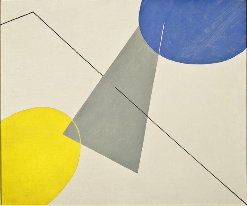 Albert Eugene Gallatin Untitled Abstraction