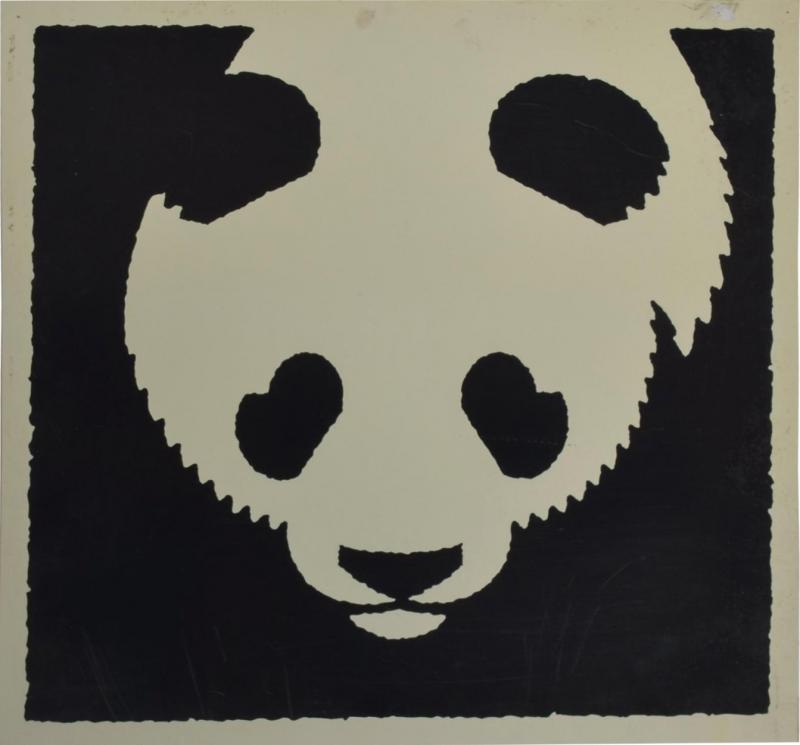 Albert Hirschfeld Modern Chinese PANDA BEAR ART Poster Lithograph