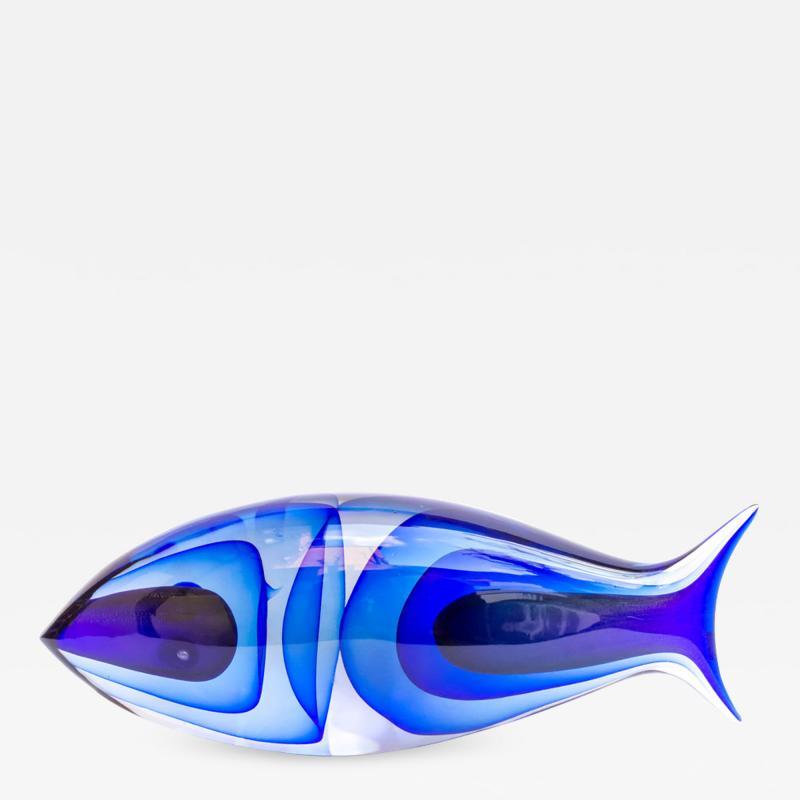 Alberto Dona Murano Glass fish by Alberto Dona