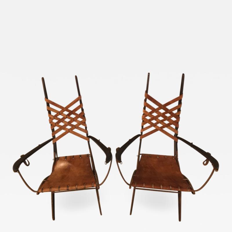 Alberto Marconetti pair of armchairs