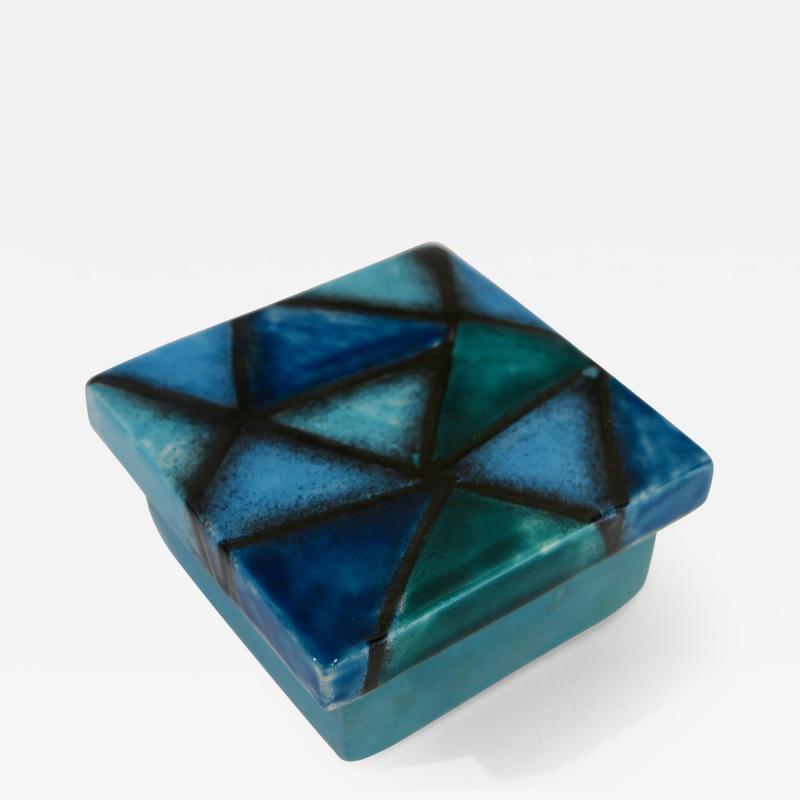 Aldo Londi Aldo Londi Bitossi small ceramic box