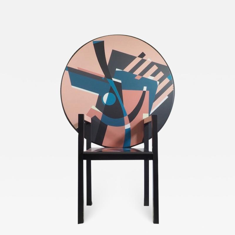 Alessandro Mendini Alessandro Mendini Signed Zabro Metamorphic Chair Table for Zanotta 1984