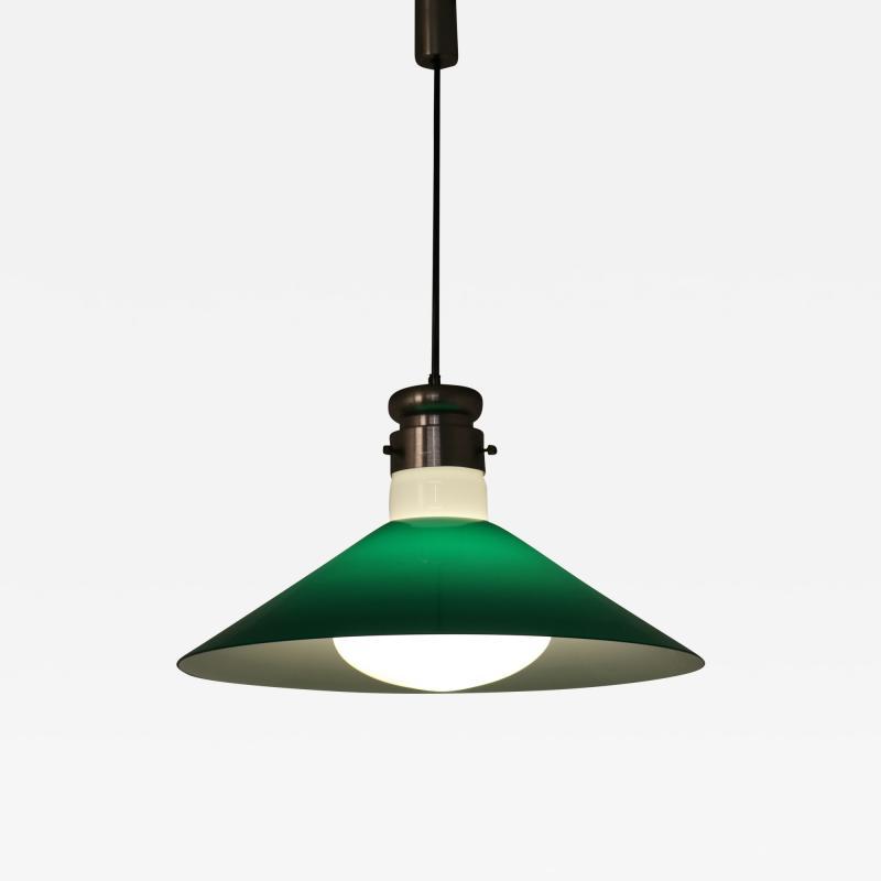 Alessandro Pianon Alessandro Pianon Murano Glass Hanging Lamp for Vistosi Italy 1970