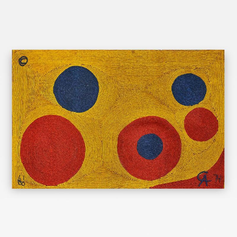 Alexander Calder Bon Art Editioned Jute Tapestry Alexander Calder