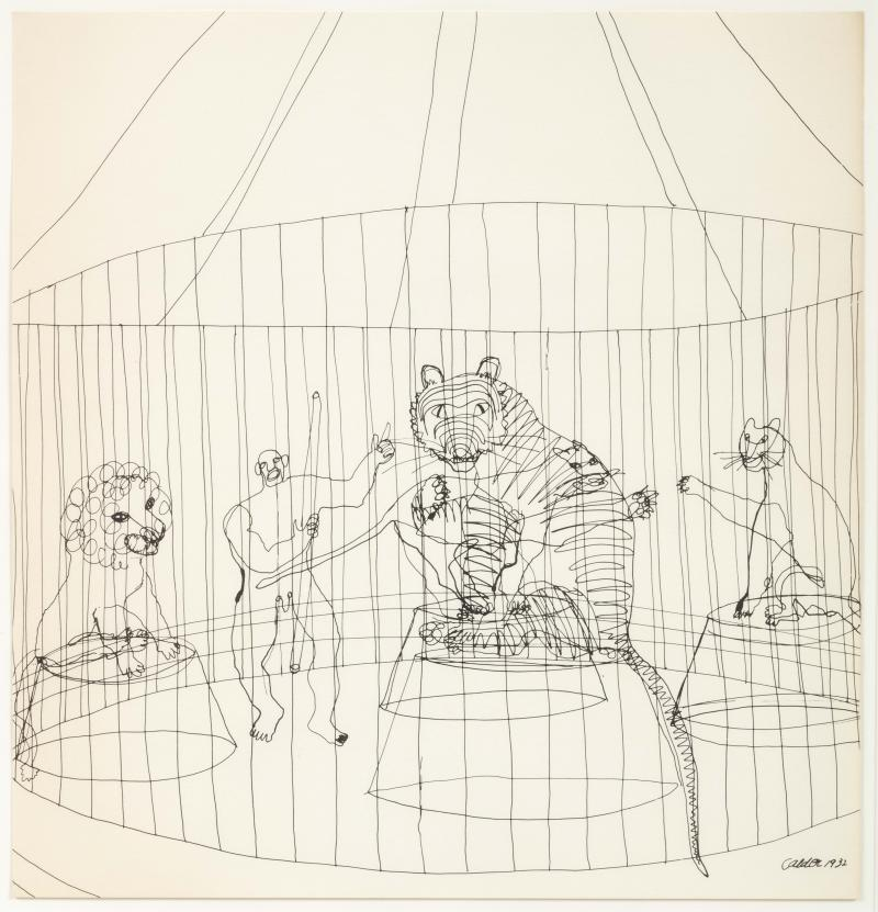 Alexander Calder Calders Circus Complete Set of Lithographs Signed Limited Edition 6 100