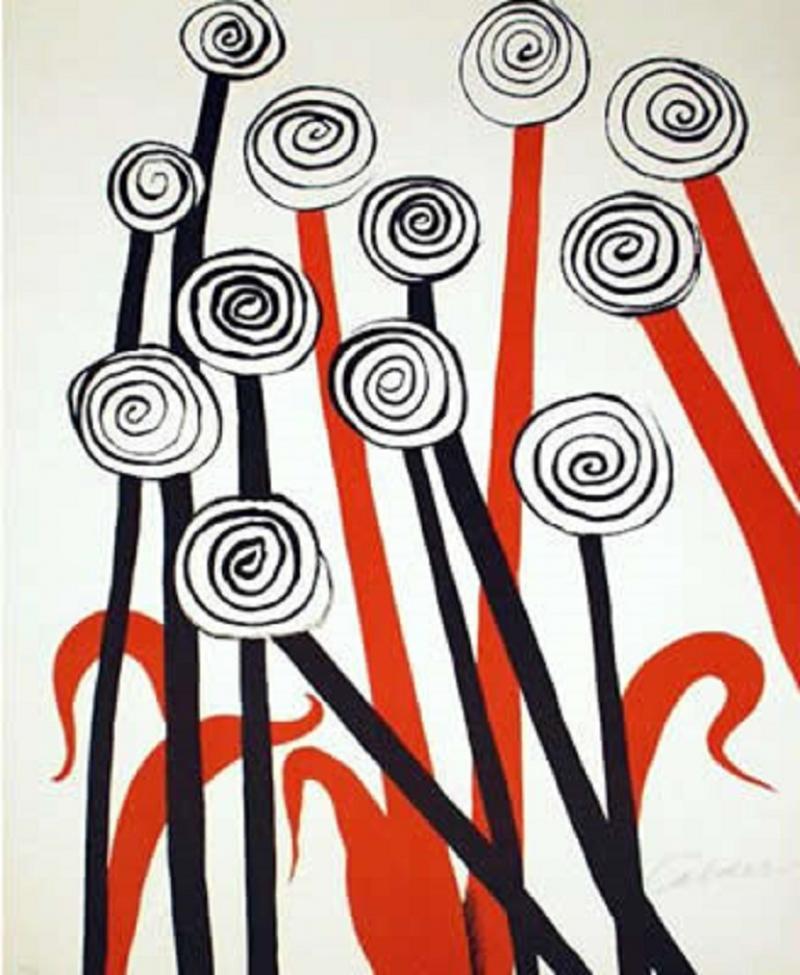 Alexander Calder Les Fleurs