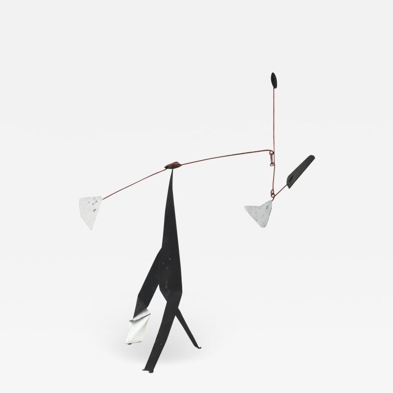 Alexander Calder Modern Abstract Kinetic Table Art Metal MOBILE after Alexander Calder 1960s