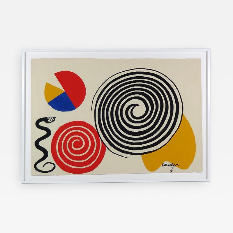Alexander Calder Tapestry La Poire Le Fromage et Le Serpent