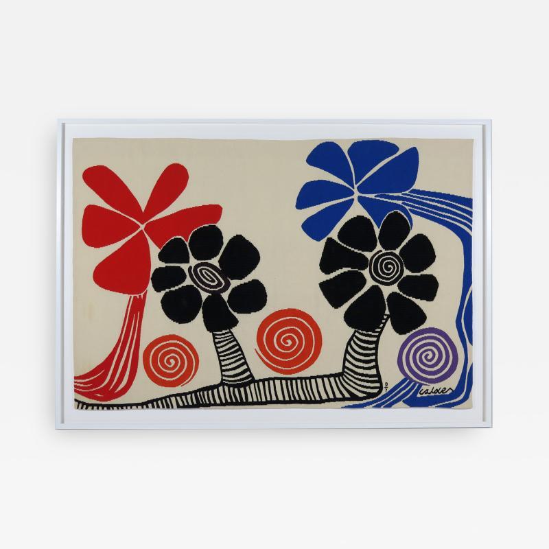 Alexander Calder Tapestry Les Palmiers