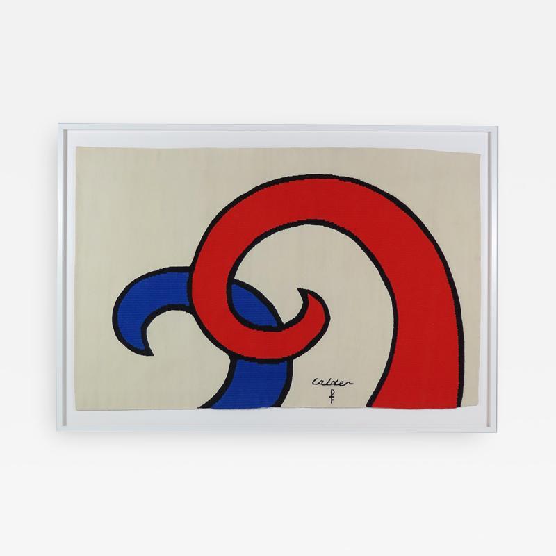 Alexander Calder Tapestry Les Vagues