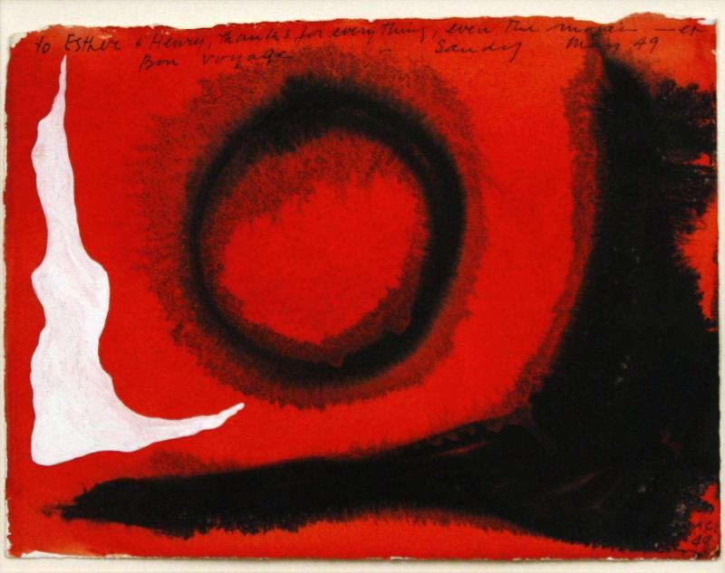 Alexander Calder Untitled 1949
