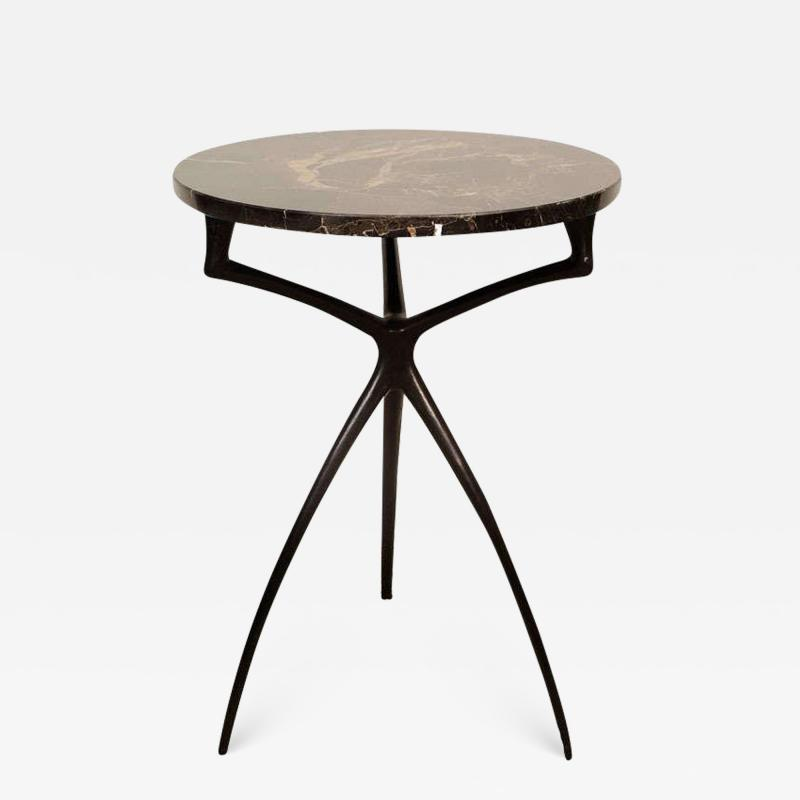Alexandre Log Atlante Side or Drinks Table by Alexandre Loge