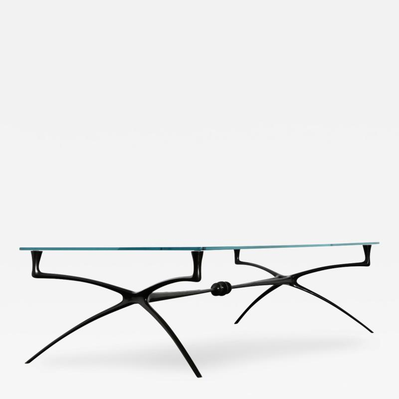 Alexandre Log Large Scale Atlante Cocktail Table by Alexandre Log