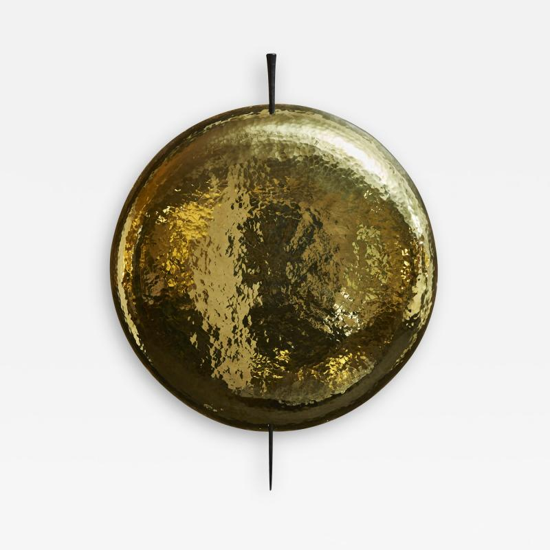 Alexandre Taveau Helios Wall Sconces in Brass and Iron by Alexandre Taveau