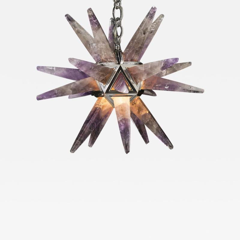 Alexandre Vossion AMETHYST STAR III LIGHTING SILVER EDITION