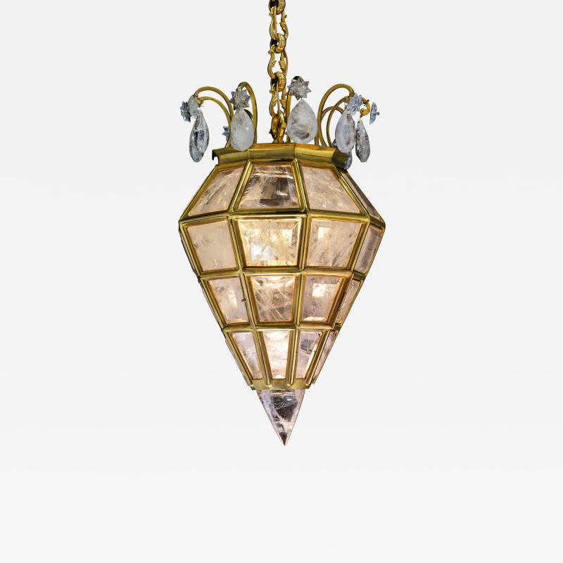 Alexandre Vossion Rock crystal LANTERN DIAMOND MODEL Gold edition