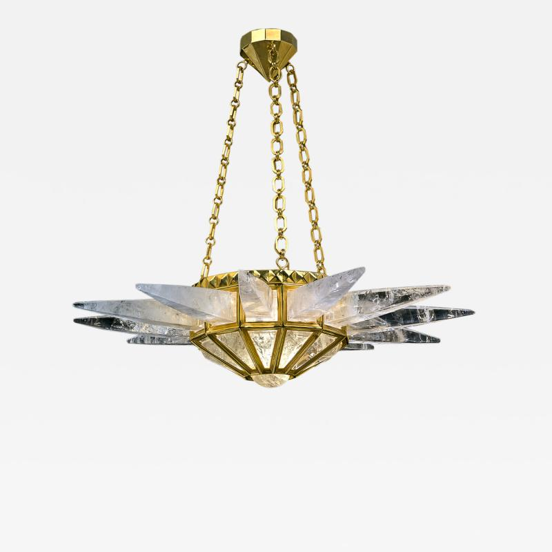Alexandre Vossion Rock crystal SUNSHINE lighting MODEL gold edition