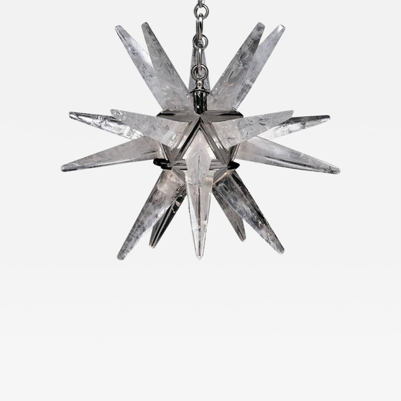 Alexandre Vossion STAR III Rock Crystal Chandelier