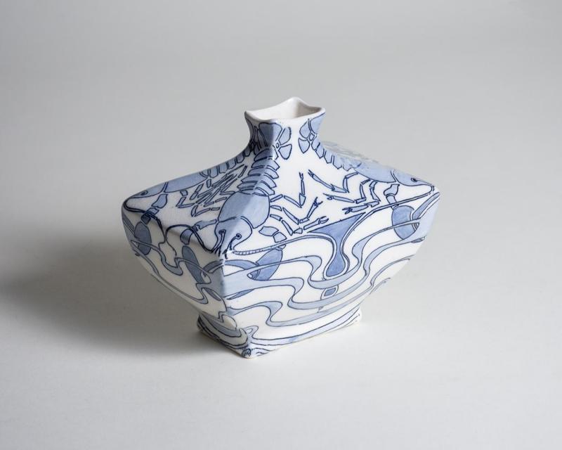 Alf Wallander Lobster Vase