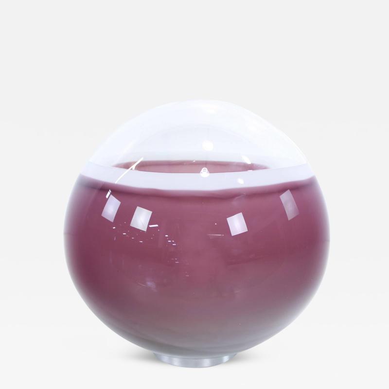 Alfredo Barbini Rare Handblown Italian Murano Glass Lamp by Alfredo Barbini
