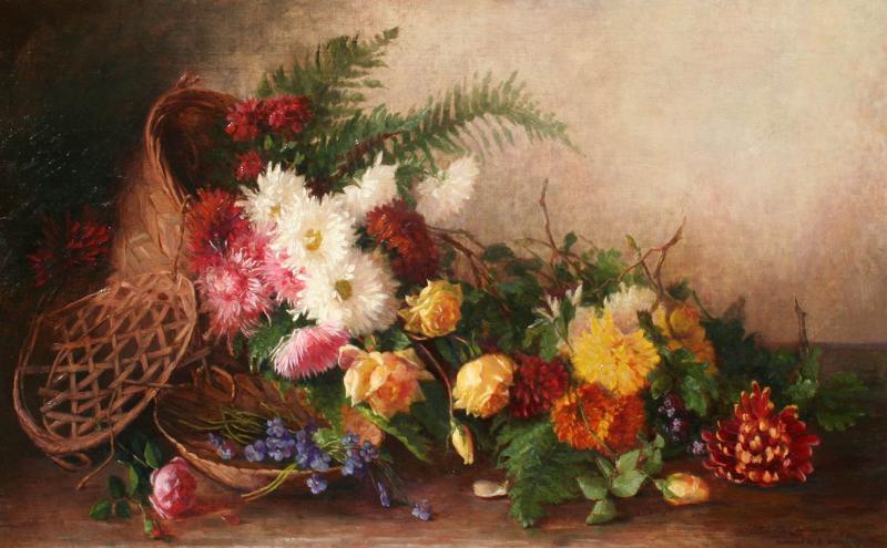Alice Brown Chittenden Floral Still Life