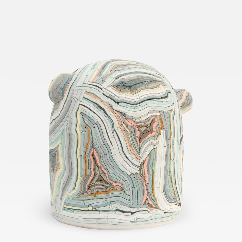 Alice Walton Mori Mandi contemporary ceramic sculpture by Alice Walton