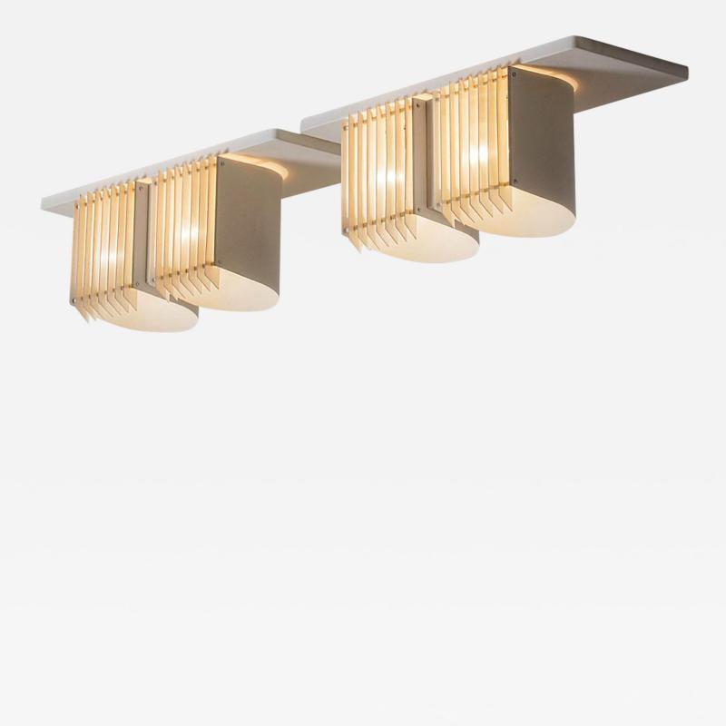 Alvar Aalto A pair of ceiling lights by Alvar Aalto