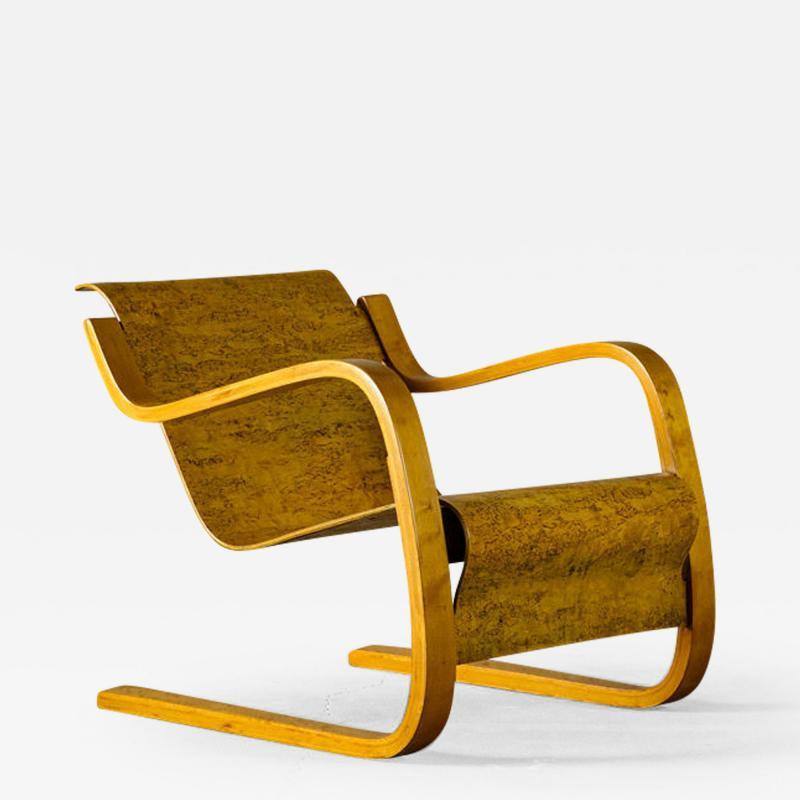 Alvar Aalto Alvar Aalto Cantilever Lounge Chair model 31 42