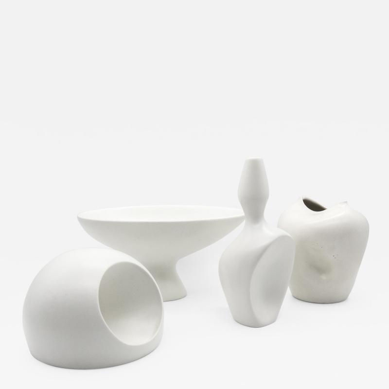 Ambrogio Pozzi Collection of Vasiforma and Vasi Antropomorfi Organic Vases 1950s