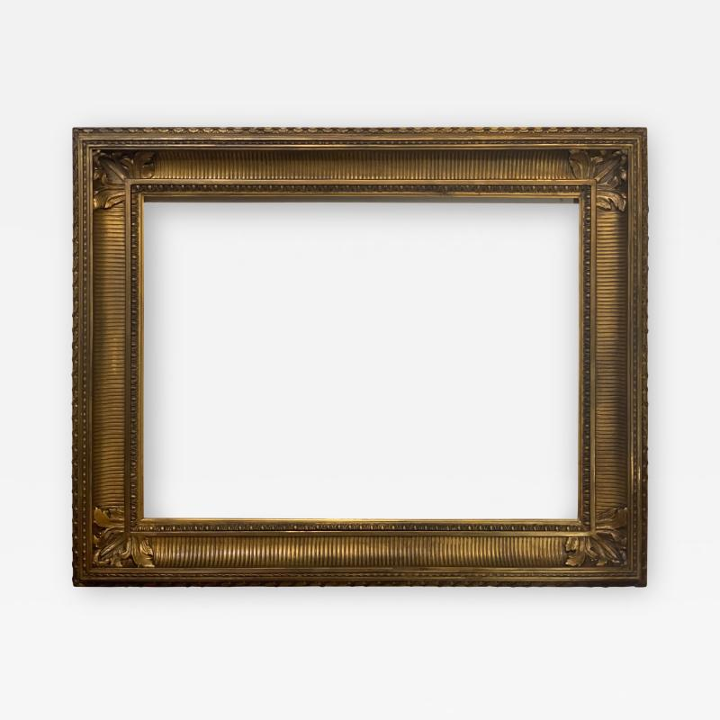 American 1840 Fluted Cove Picture Frame 28x37
