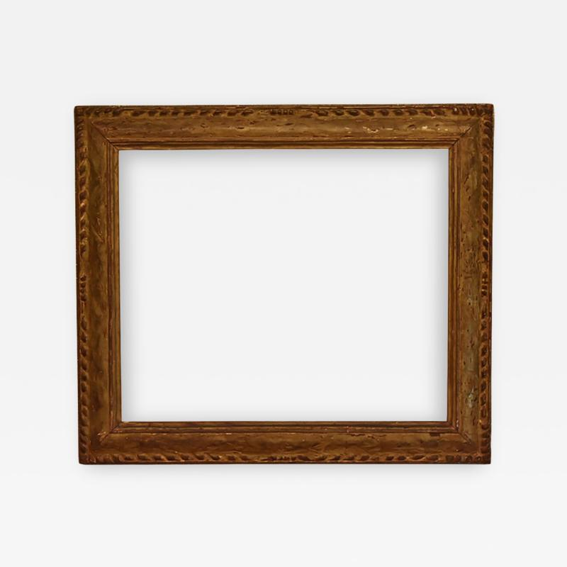 American 1920 Arts And Crafts Metal Leaf Picture Frame 25x30
