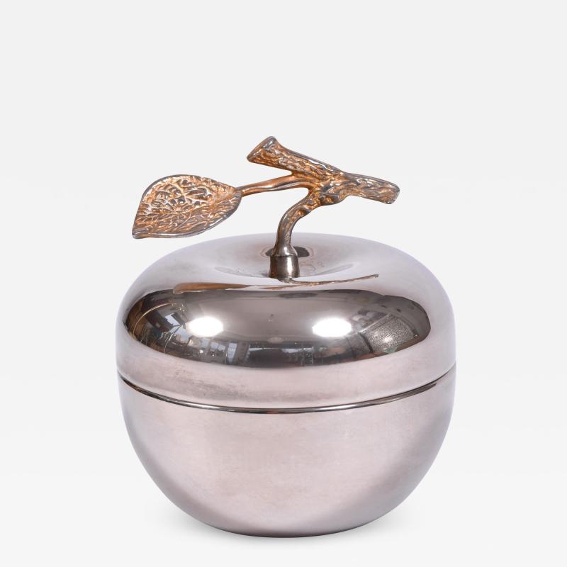 American 1960s silver apple