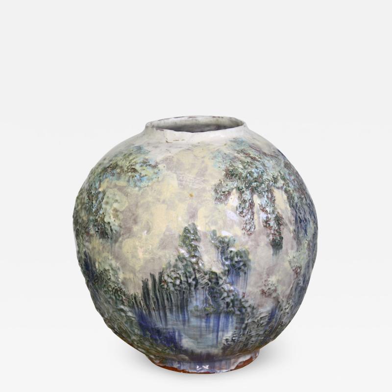 American Arts Crafts Pottery Vase