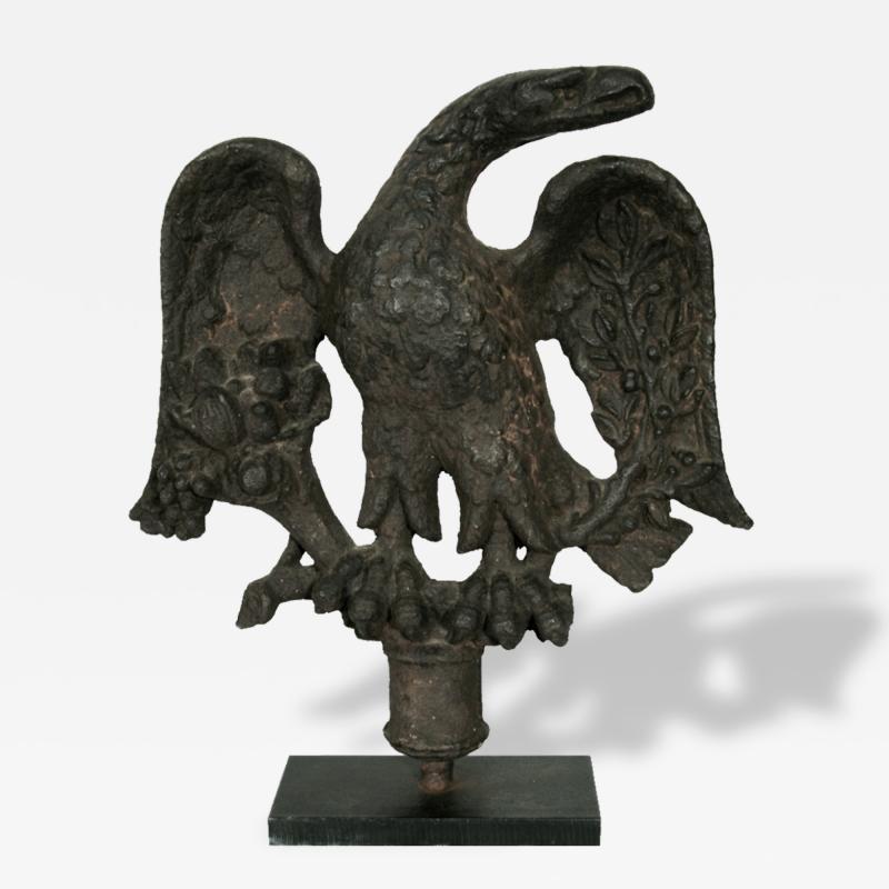 American Federal Period Cast Iron Eagle Philadelphia Ca 1813