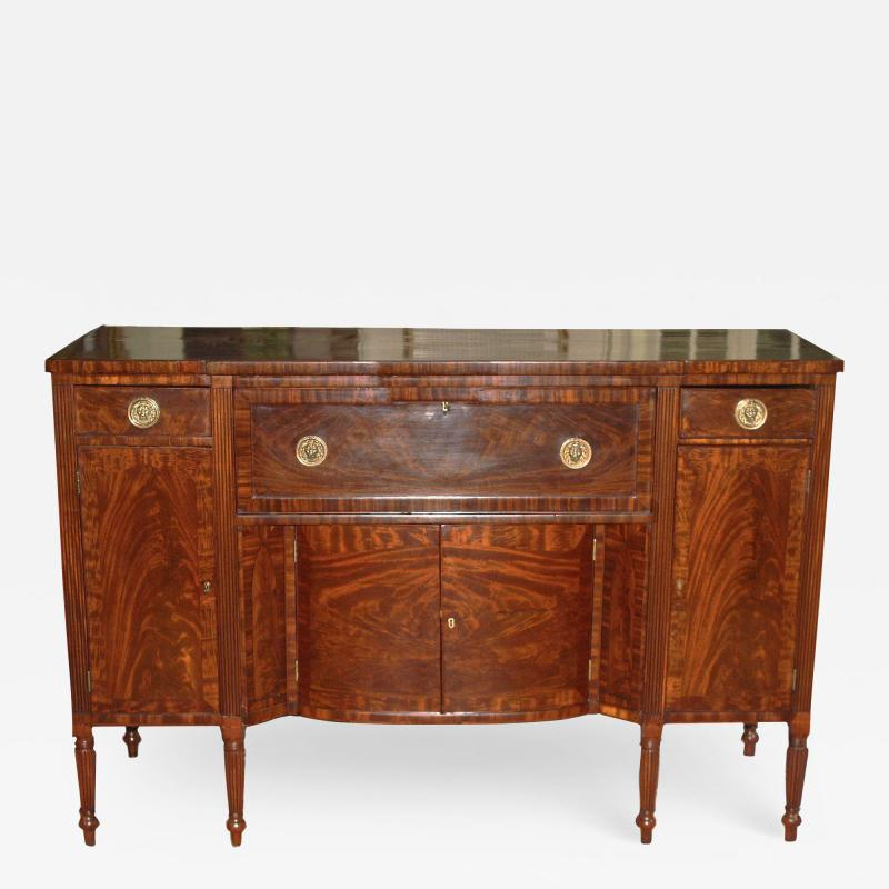 American Federal Sideboard with Butlers Secretary