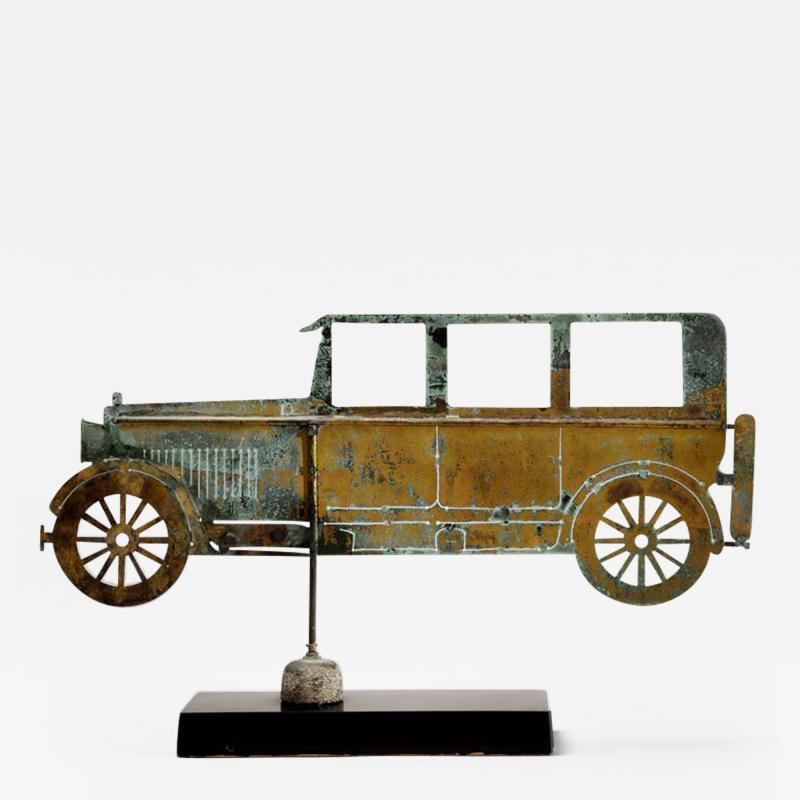 American Folk Art Automobile Weathervane