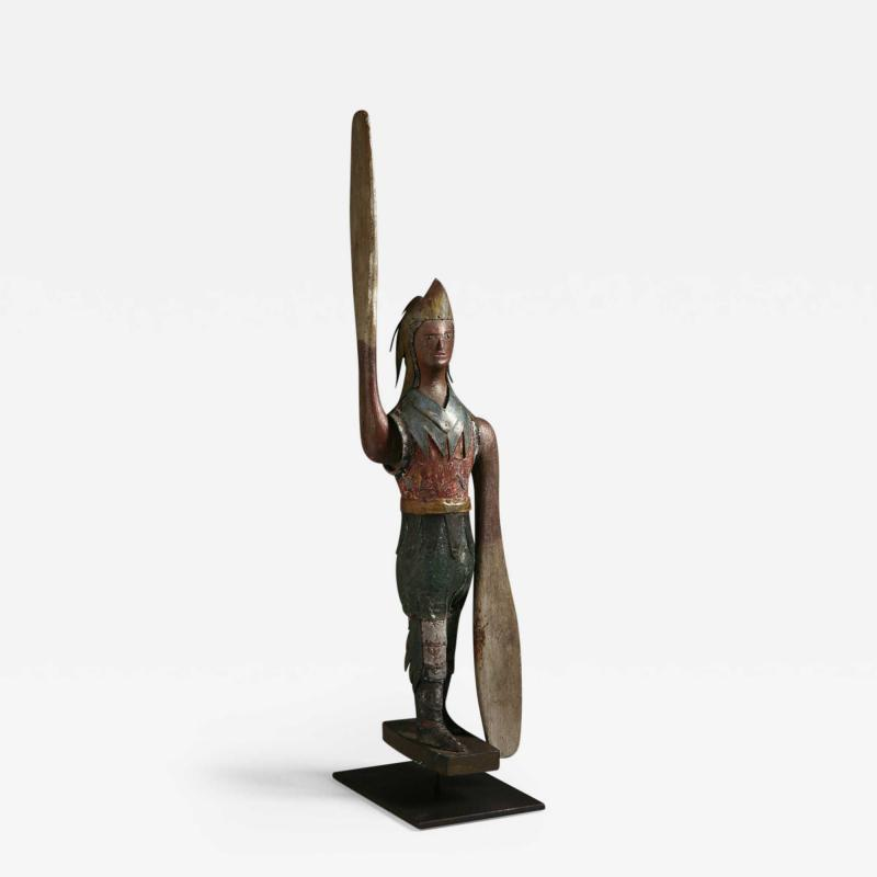 American Indian Whirligig Probably New England c 1870