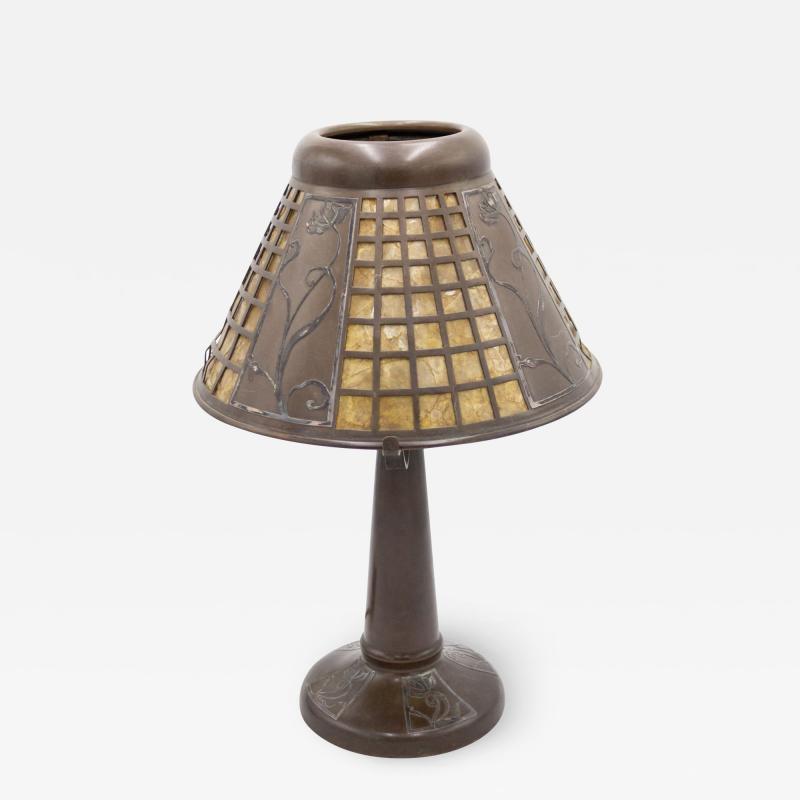 American Mission Heintz Art Metal Table Lamp